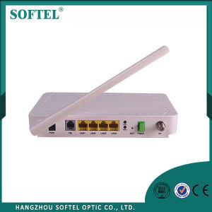 4 Port WiFi ONU with 2 VoIP/ WiFi Epon ONU pictures & photos