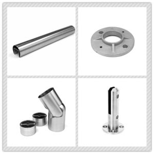 Stainless Steel Balustrade Fastener / Glass Railing / Staircase Glass Fitting pictures & photos