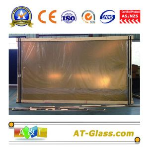 4, 5, 6, 8, 10mm Golden 24k Reflective Glass/Coated Glass/Tinted Glass pictures & photos