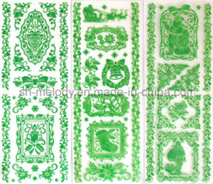 Glittering Rub Ons Sticker/ Rub on Transfer for Scrapbooking and Card Making pictures & photos