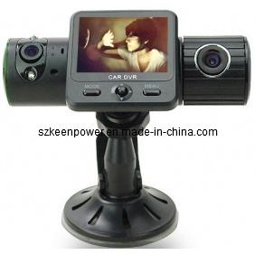5.0 Mega Car DVR HD Dual Camera Black Box with G-Sensor / GPS / IR Light pictures & photos