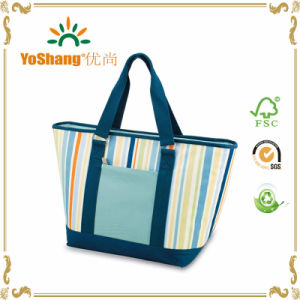 Custom Cheap Reusable Insulated Aluminium Foil Disposable Ice Cooler Bag Lunch Bag pictures & photos