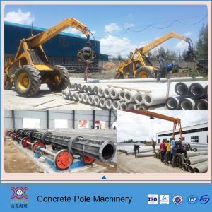 Concrete Utility Electricity Pole Machine