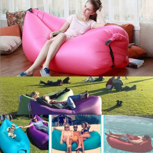 Inflatable Bag, Inflatable Sofa, Inflatable Air Sleeping Bed, Lounger Inflatable pictures & photos