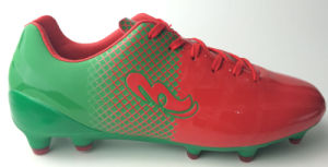 Three Colors Football Shoe / Soccer Shoe pictures & photos
