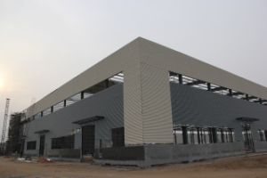 Light Steel Prefabricated Warehouse pictures & photos