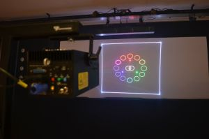 RGB 4000MW DIY Mini Outdoor Laser Light Animation Show Laser Projector pictures & photos