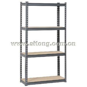 Heavy Duty Rivet Steel MDF 4 Shelf Rack Unit pictures & photos