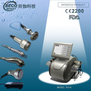 Portable RF Vacuum Cavitation Slimming Machine (Ru+5)
