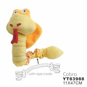 Durable Plush Dog Toys with Squeaker (YT83988) pictures & photos