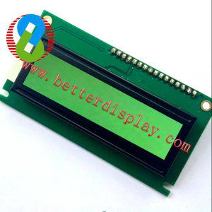 1602 Yellow /Green Standard LCD Module pictures & photos