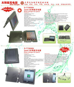 Solar Leather Case for iPad2