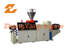 Twin Screw Extruder PVC Pipe/Sheet/Granule Pelletizing pictures & photos