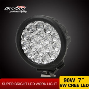 90W Jeep Offroad Waterproof 7 Inch LED Work Lamp pictures & photos