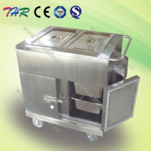 Electric Stainless Steel Heating Food Trolley pictures & photos