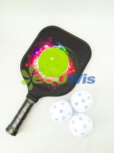 High Quality Garphite Pickleball Paddle (HTS5001-3) pictures & photos