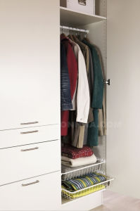 Lacquer Finished Wardrobe with Ios and E1 Standard