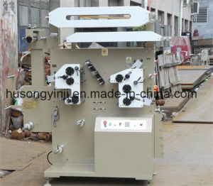 Flexo Printing Machine for Ribbon Label, Satin Label (2+1) pictures & photos