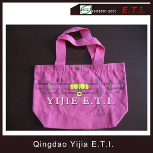 Eco Friendly Cotton Tote Bag with Web Handlee pictures & photos