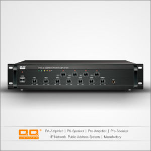 4 Zone PA Mixer Amplifier for Public Address System 150W pictures & photos