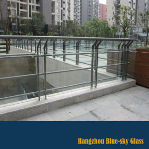 Lt 12mm Clear Tempered Balustrade Glass with Low Price