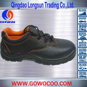 Double Density PU Orange Mesh Safety Footwear (GWPU-1019)