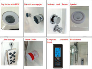 Leisure Comfortable Steam Shower Room (M-8256B) pictures & photos