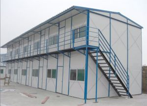 Economic Steel Structure Prefabricated House Project pictures & photos