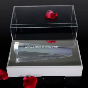 Clear Acrylic Jewelry Display Box with White Base (BTR-A2083) pictures & photos