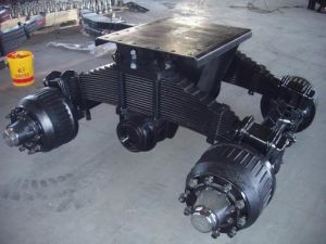 Chinese Factory of Germany Type Semi Trailer Bogie Suspension pictures & photos