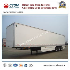 Heavy Duty Refrigerated Thermal Box/Van Type Semi Truck Trailer pictures & photos