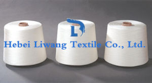 Polyester Yarn for Weaving and Knitting Single Yarn 38s