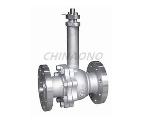 Cryogenic Stainless Steel Flange Type Screw Type Ball Valve pictures & photos