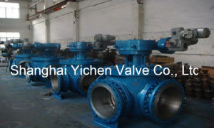 Electric Four Ways Ball Valve (YCQ946) pictures & photos