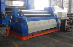 Hydraulic W12 Series Four Roller Plate Rolling Machine (W12 8X3000) pictures & photos