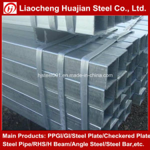 16 Inch Tube Chinese Galvanized Steel Rectangular Tube Products for Buildings pictures & photos