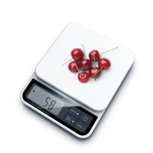 Timer&Clock Function High Accuracy Kitchen Scale with Removable Platform for Easy Clean pictures & photos