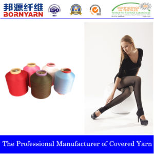 Covered Yarn Made of Spandex & Nylon and Polyester pictures & photos