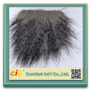 High Quality Long-Haired Fake Fur Fabric pictures & photos