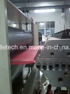 PVC Glazed Tile /Corrugated Roofing Making Machine pictures & photos