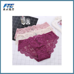 Plain Breathable Women Panty Lady Underwear pictures & photos