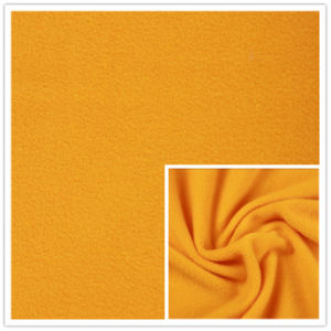 Solid Dyed Polar Fleece Double Brushed Anti-Pilling Polyester Fleece Super Heavy pictures & photos