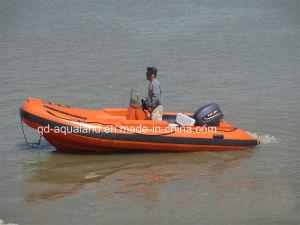Aqualand 16feet 4.8m Rigid Inflatable Boat/Rescue Patrol/Rib Boat (rib480b) pictures & photos