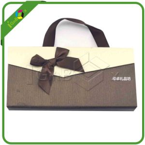 Paper Chocolate Boxes / Brownies Box / Sweet Box with Handle Wholesale pictures & photos
