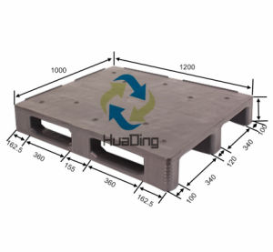 Plastic Pallet in Size 1200X1000 mm pictures & photos