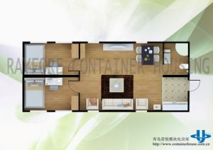 Flat Pack Container House, Living Container pictures & photos
