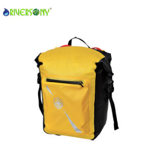 Yellow TPU Waterproof Backpack Bags pictures & photos