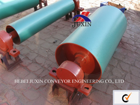 Heavy Duty Belt Conveyor with Drive Pulley for Cement pictures & photos