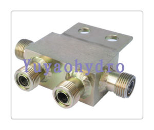 ORFS Weld Block Tube Fittings for Construction Machinery pictures & photos