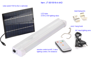 Solar Energy LED Tube Light System pictures & photos